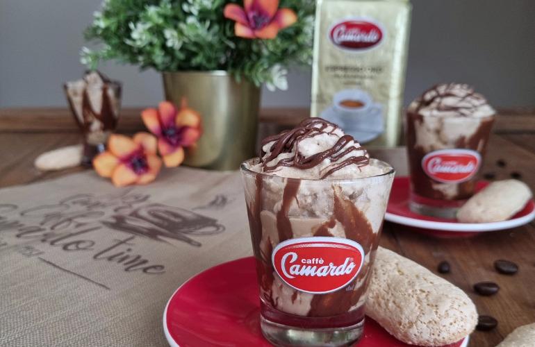 Ricetta Crema Fredda al Caffè con Savoiardi fatti in casa